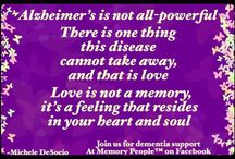 Dementia / For patients caregivers and advocates