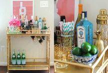 Intoxication Station / Inspiring Bar Carts, Beautiful Booze Bottles & Mixology Miscellania / by Devon C