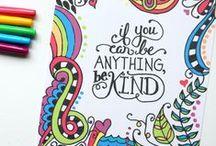 Zentangle. Art. Mixed Media. Journaling / by Denise Godinez
