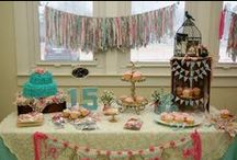 Elisabeth's Surprise 15th Shabby Chic Birthday Party <3 / by Lisa Marshall