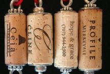 Wine  -- Bottles, Glasses and Cork Crafts / by Jaime Kohutek
