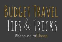 """ Budget Travel Tips / Budget travel tips and tricks. Ideas for saving money, making the most of your trip, and anything that leads to savings. ***Accepting Contributors*** / by Jenn Peters 