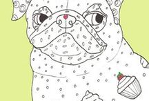 Adult Coloring Books & Pages / Neat adult coloring books and pages.