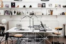 {Studio Spaces} / Inspirational studios to get the creative juices flowing / by Driftwood Interiors | Kerri Shipp