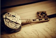 Steampunk Jewelry / Steampunk Jewellery by SKAIOR Designs. / by SKAIOR Designs