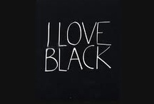 I ♥ BLACK / by Daphne Schuuring