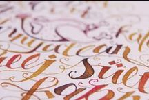 { Lettering } / Lettering and Typography