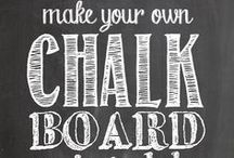 Oh chalkboard / Oh chalkboard.  Why you come back to me?  I thought I left you in 6th grade. / by Francesca Mesneak