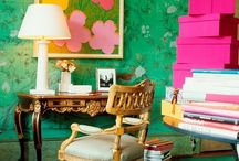 Green / Here are some ways to use the color green in your home.