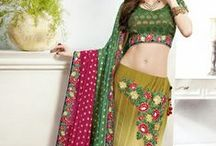 Ravishing Lehenga cholis from http://bit.ly/1hrpYTh