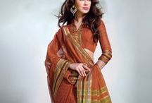 Sober cotton handloom sarees from Sareez
