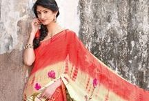 Sizzling Sarees for Summer-Time Parties