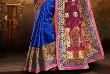 Hot New Arrival - Embroidered Party wear Sarees