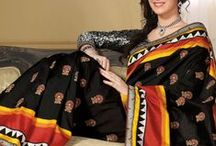 Eid special - Raw Silk Embroidered sarees from www.sareez.com