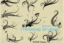 Photoshop Brushes / Photoshop Brushes by SKAIOR Designs / by SKAIOR Designs