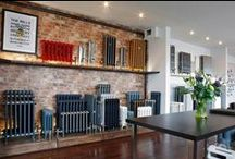 Castrads Showroom Manchester / We are very proud to unveil the new-look showroom at our Manchester HQ showcasing the stunning Castrads collection of cast iron radiators and our full range of finishes.