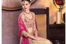 "Wedding Collection - Bridal  Wear / Bride And #Bridegroom- ""arithmetic of love""   #PartyWear #BridalWear"
