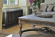 French Living / Ornate, rich and elaborate. Subtle hues with eccentric detailing.