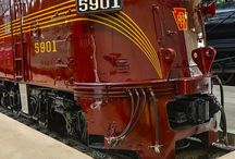 Railroad Photography / Photographs of historic locomotives and other railroad related artifacts from the industry.