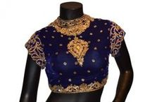 Designer Blouses Collection From Sareez.com