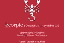 Astro Collection : Scorpio /  #AstroCollection # Sareez