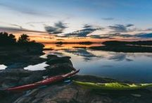 Coast & Archipelago / Finland's coast boasts the world's largest archipelago. Old wooden towns, lighthouses, historical manors and stone churches, large national parks stretching over land and sea – this all sums up Coastal Finland in a nutshell.