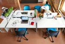 WORK Stations / Variety of workspaces in the office place