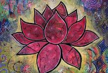 Colorful Art by Lindy / Colorful, whimsical paintings created by artist Lindy Gaskill (formerly Gruger Hanson)