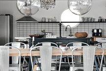 kitchens! / kitchen colors and textures. / by Allie Bordeaux