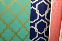 Paint Colors/Wallpaper / by Carrie Moore