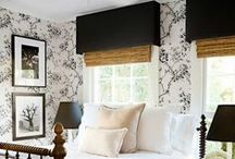 Window Treatments / by Carrie Moore