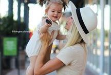 STYLE || Mommy and Me / Living In Color is your source of inspiration for mommy and me fashion, style, and trends.
