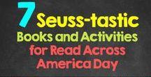 Read Across America / Fun activities to celebrate Dr. Seuss' birthday and READING! #FollettReads #ReadAcrossAmerica