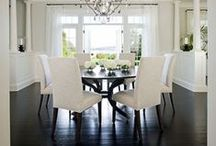 White and Bling HOME / Ok, so there's a lot of gray in here too.  The way we see it, gray definitely qualifies as bling when done right!  Enjoy! / by Mariah DeMarco