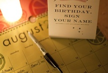 Party Guest Book Ideas