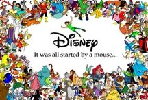Disney / It was all started with a mouse... / by Ellie Konfrst