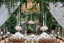 Wedding reception - tablescape