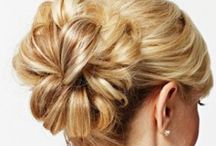 Hair styling and updos