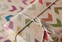 Gift wrapping / by Raphaele Lamaze-Beyssac