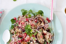 food - quinoa, couscous & noodles
