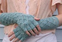 Knitting and crochet - hands / by Raphaele Lamaze-Beyssac