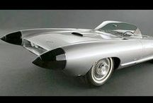 Mid-Century Concept Cars, Transportaion and Other Devices / The Mid-Century years were great for new creations and concepts for cars and other devices