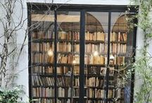 Books in the house / Inspiration for book storage, libraries, reading nook, shelving. / by Raphaele Lamaze-Beyssac