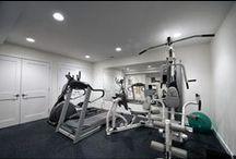 (d) house planning | basement gym