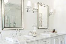 (wip) house planning   basement bathroom / by Kristin Austin