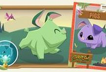 Animal Jam Minibooks / Do you love animals and science? Download these minibooks to learn more about the animals of Jamaa. Print a color version or a black and white version that you can color yourself.  Each book features easy-to-read content, hands-on activities and science experiments.