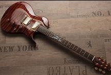 Zerberus Guitars Customshop / Handbuilt unique specimen guitars. One of a kind instruments built by hand.