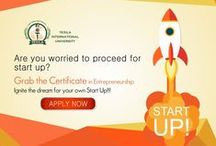 Online Entrepreneurship Program / Gain confidence to start up your own business with our Online certificate courses on Entrepreneurship.Understand the importance of the entrepreneurship and the ways to develop entrepreneurial culture.