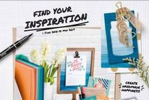 2016-2017 Stampin' Up! Annual Catalogue / Inspiration featuring products from the 2016-2017 Stampin' Up! Annual Catalogue