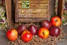 Gifts that Give Back / Donate Fruit gifts brings orchard-fresh, Premium grade fruit, directly from the farm, to your front door! Every order activates a pound-for-pound fresh fruit donation to food banks across America.
